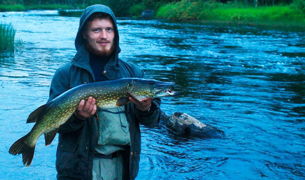 Рыбалка в мае карелии