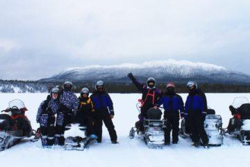 """Корпоративный тур на снегоходах """"Три вершины Карелии"""""""