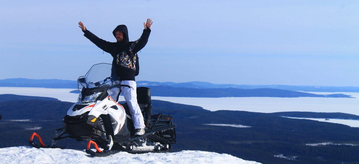 Снегоходный тур 23 февраля
