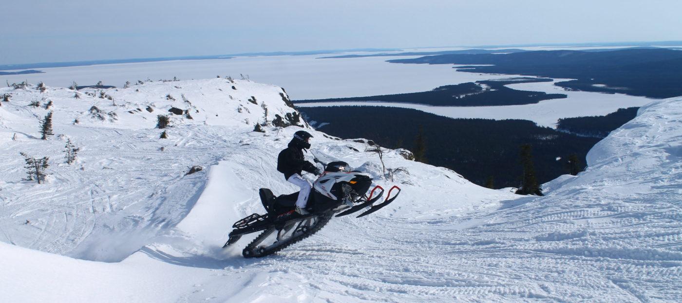 Путь к Белому морю снегоходная экспедиция