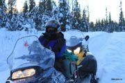 Туры на снегоходах в Карелии с рыбалкой