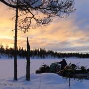 Утро на рыбалке на севере Карелии