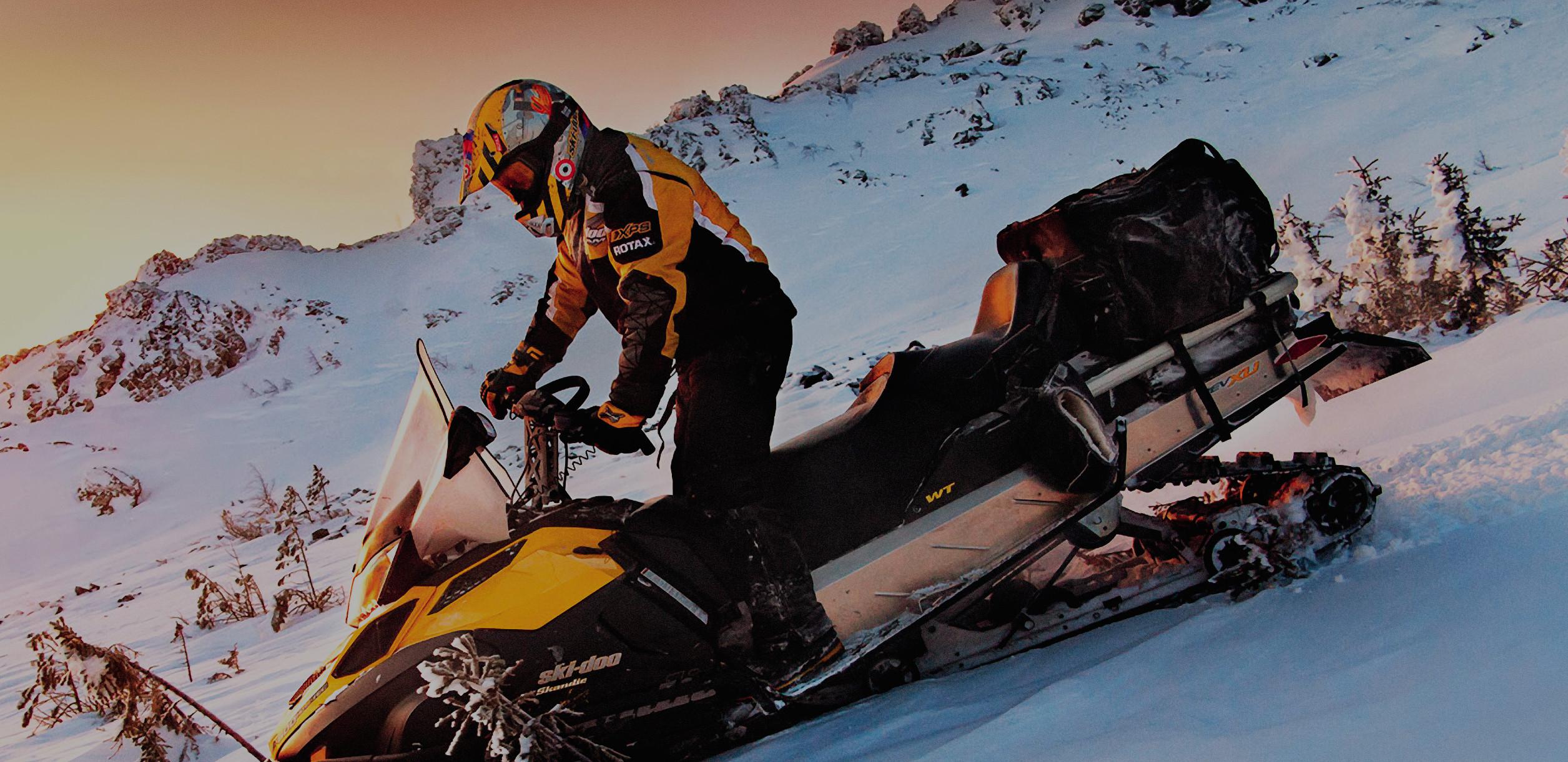 Снегоходный VIP тур в северной Карелии