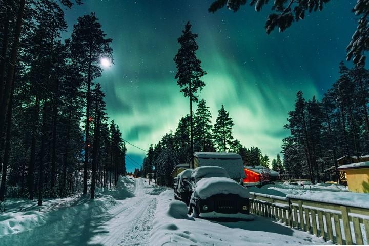 Северное сияние и турагентство