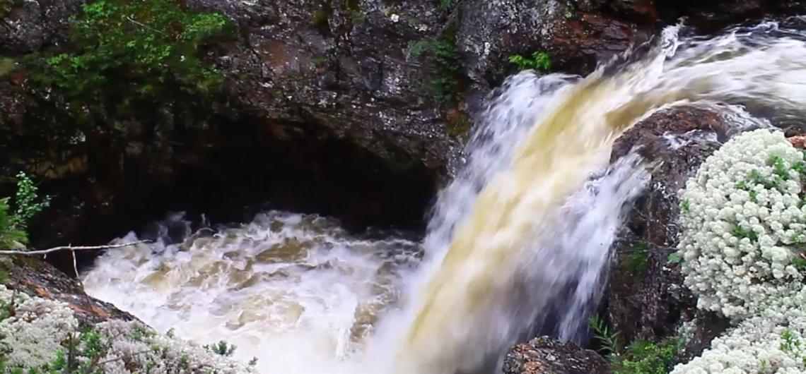 Водопад Мянтюкоски